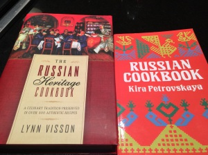 Our Russian heritage cookbooks to keep Annabelle's Russian heritage alive