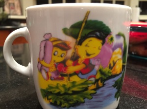Traditional porcelain children's cup